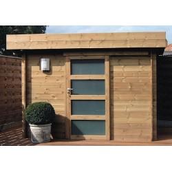 Abri de jardin à toit plat - CHAMBERY 3.00m x 3.00m