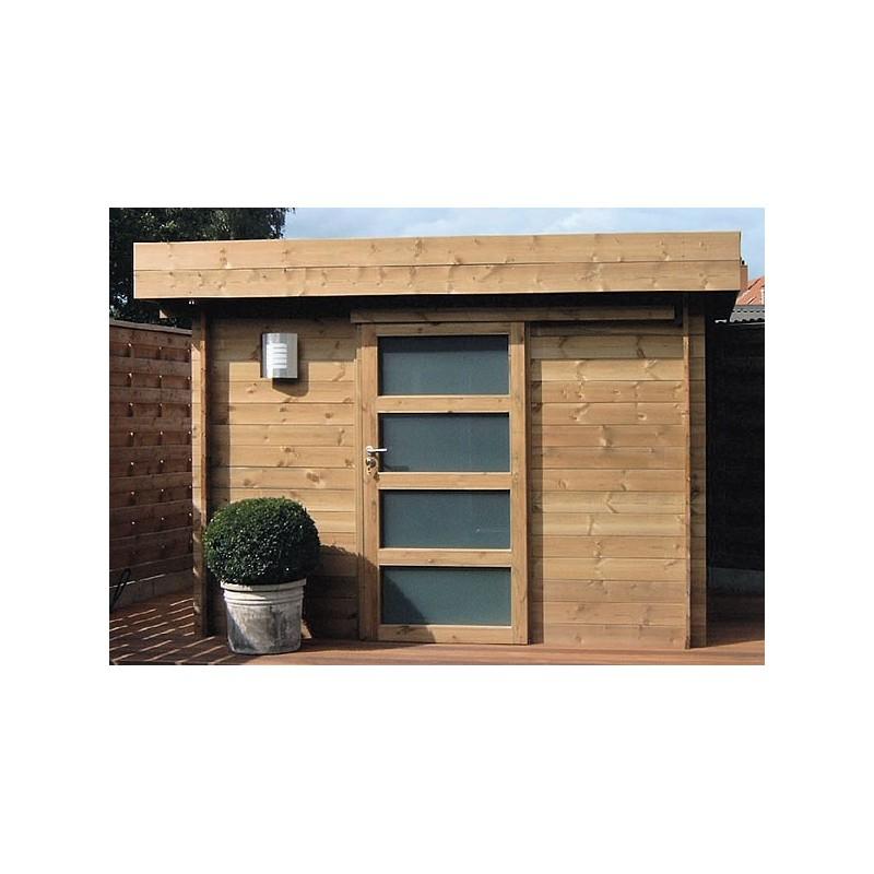 Best abri de jardin bois traite toit plat ideas for Abris de jardin bois traite